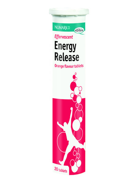 Energy Release Effervescent Tablets
