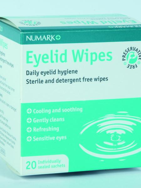 Numark Eyelid Wipes