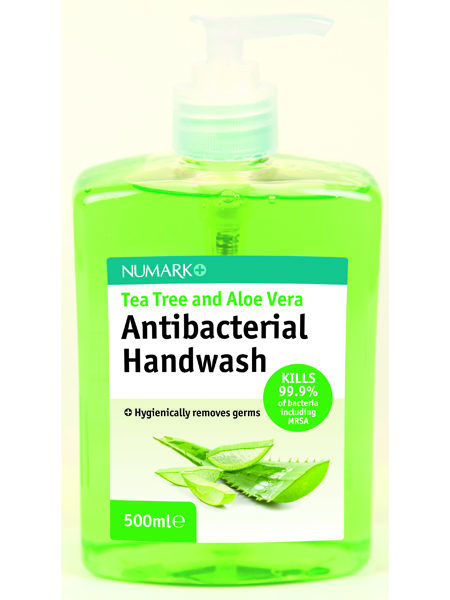 Numark Tea Tree and Aloe Vera Antibacterial Handwash