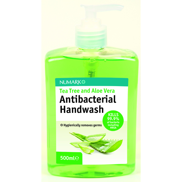 Numark Tea Tree and Aloe Vera Antibacterial Handwash