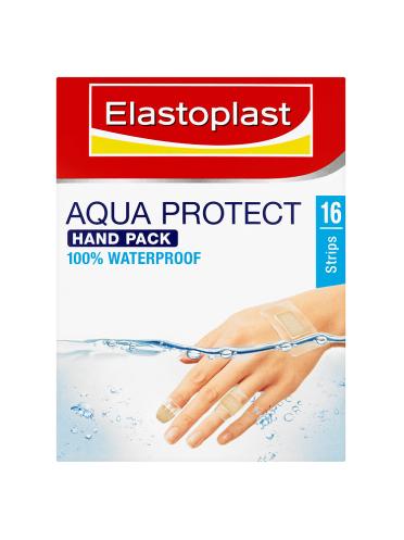 Elastoplast Aqua Protect Plasters Hand Pack 16 Strips