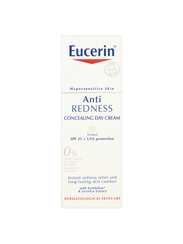 Eucerin Hypersensitive Skin Anti Redness Concealing Day Cream 50ml