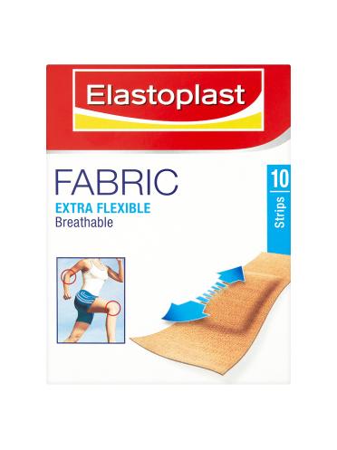Elastoplast Fabric Extra Flexible 10 Strips