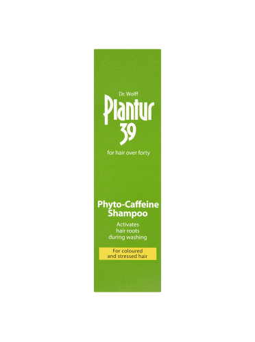 Dr. Wolff Plantur 39 Phyto-Caffeine Shampoo for Coloured and Stressed Hair 250ml