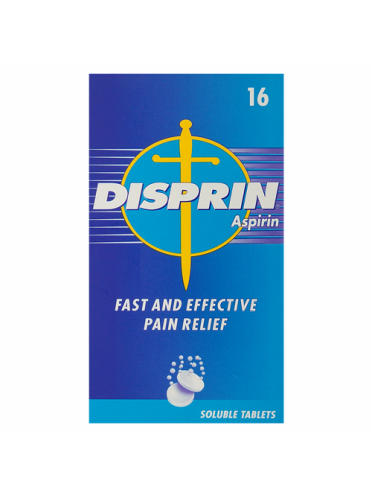 Disprin Aspirin 16 Soluble Tablets
