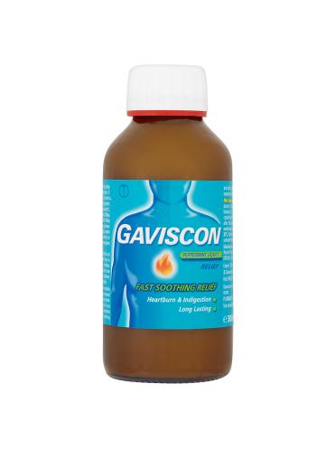 Gaviscon Peppermint Liquid Relief 300ml