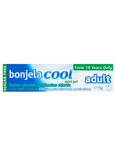 Bonjela Cool Adult Mint Gel Sugar Free 15g