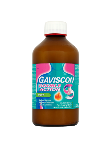 Gaviscon Double Action Mint 600ml