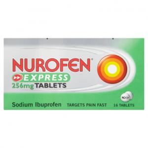 Nurofen Express 256mg Tablets 16 Tablets