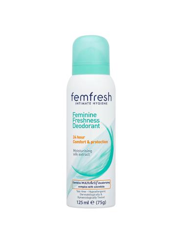 Femfresh Intimate Hygiene Feminine Freshness Deodorant 125ml