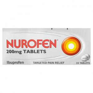 Nurofen 200mg Tablets 16 Tablets
