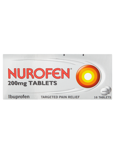 Nurofen 200mg Tablets 16 Tablets