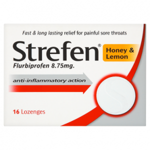 Strefen Honey & Lemon 16 Lozenges