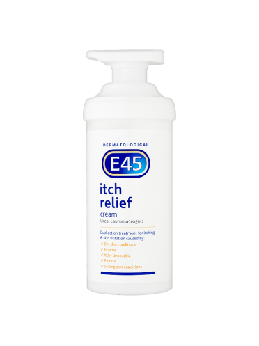 E45 Dermatological Itch Relief Cream 500g