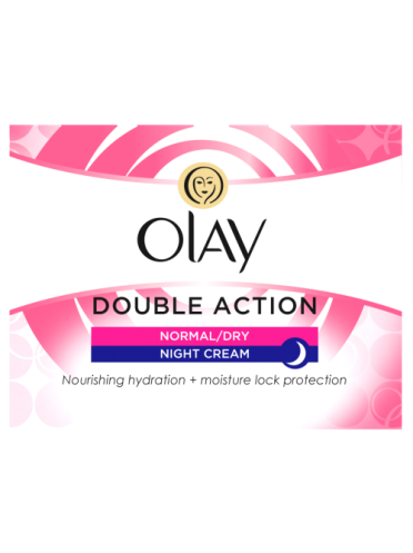Olay Double Action Moisturiser Night Cream 50ml
