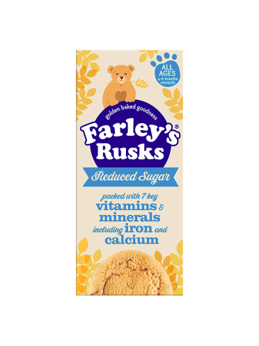 Farley's Rusks All Ages 4-6 Months Onwards Farley's Rusks Reduced Sugar 150g