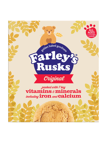 Farley's All Ages 4-6 Months Onwards Farley's Rusks Original 300g