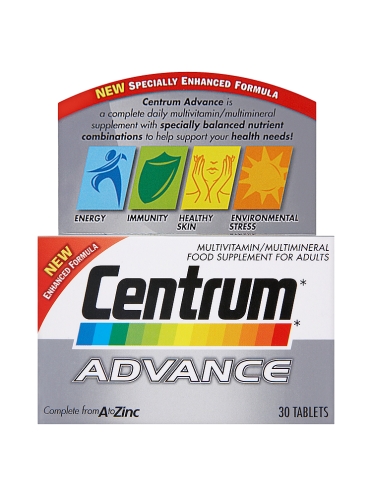 Centrum Advance 30 Tablets