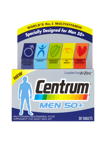 Centrum Men 50+ 30 Tablets