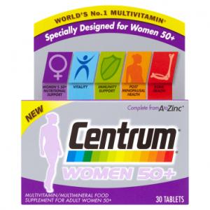 Centrum Women 50+ 30 Tablets