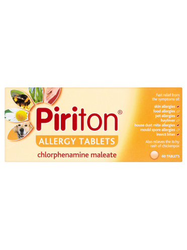 Piriton Allergy Tablets 60 Tablets