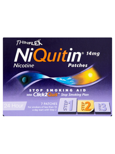 NiQuitin 14mg Patches 24 Hour Step 2 7 Patches