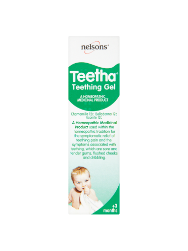 Nelsons Teetha Teething Gel +3 Months 15g