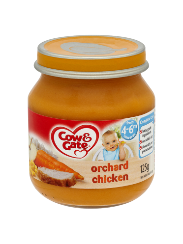 Cow & Gate Orchard Chicken from 4-6m Onwards 125g