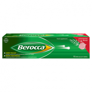 Berocca Mixed Berries Flavour 15 Effervescent Tablets