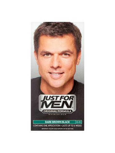 Just For Men Shampoo-In Haircolour Dark Brown Black H-45