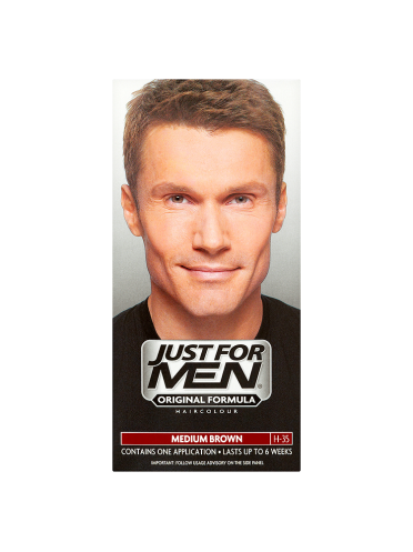 Just For Men Shampoo-In Haircolour Medium Brown H-35