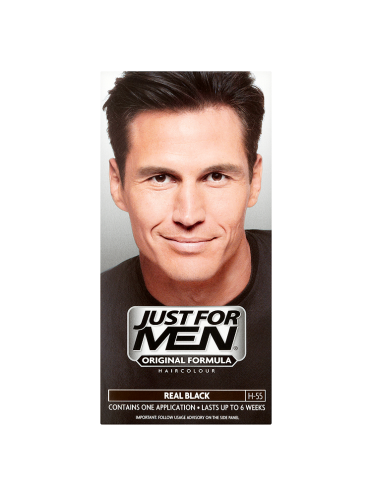Just For Men Original Formula Haircolour Real Black H-55