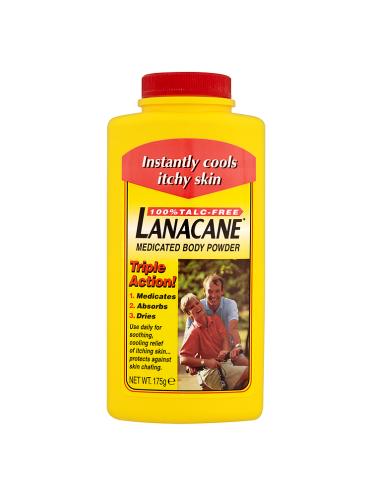 Lanacane Medicated Body Powder 175g