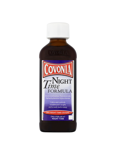 Covonia Night Time Formula Dry Night Time Coughs 150ml