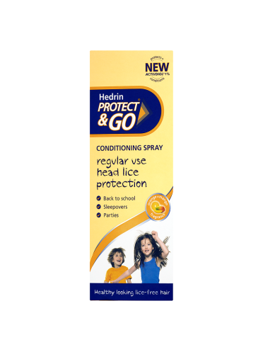 Hedrin Protect & Go Conditioning Spray Orange+Mango Fragrance 200ml