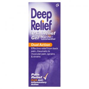 Deep Relief Dual Action Pain Relief Gel 30g