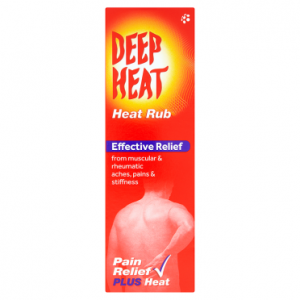 Deep Heat Heat Rub 100g