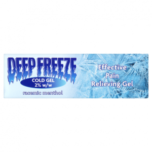 Deep Freeze Cold Gel 2% w/w 100g