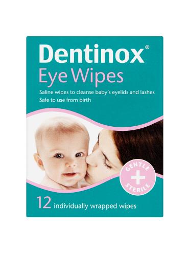Dentinox 12 Eye Wipes