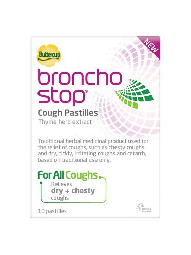 Buttercup Bronchostop Cough Pastilles 10 Pastilles