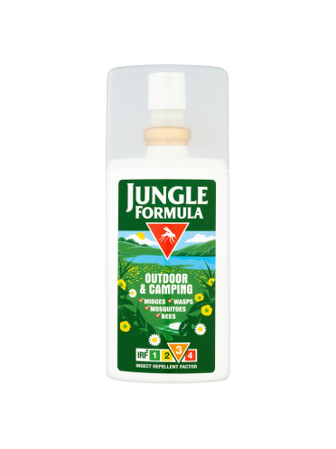 Jungle Formula Outdoor & Camping Insect Repellent Factor 3 90ml