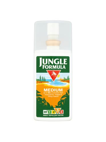Jungle Formula Medium Insect Repellent Factor 3 Pump Spray 90ml