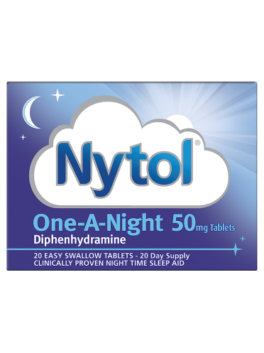 Nytol One-A-Night 50mg Tablets 20 Tablets