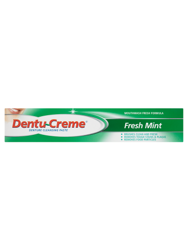 Dentu-Creme Denture Cleansing Paste Fresh Mint 75ml