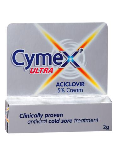 Cymex Ultra Aciclovir 5% Cream 2g