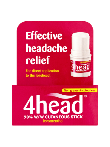 4head Effective Headache Relief Stick 3.6g