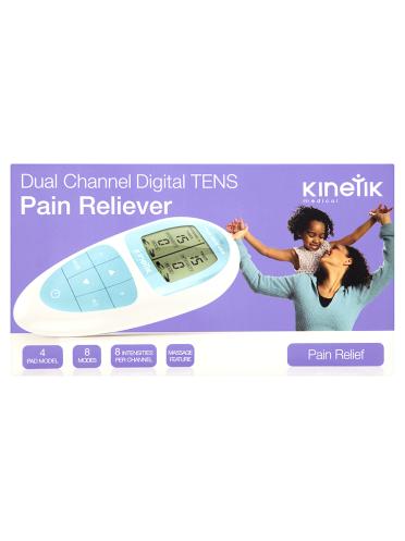 Kinetik Medical Dual Channel Digital TENS Pain Reliever