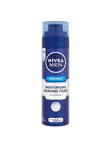 NIVEA MEN Originals Moisturising Shaving Foam 200ml
