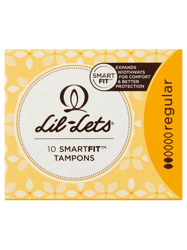 Lil-Lets 10 Smartfit Tampons Regular