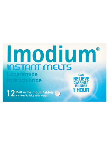 Imodium Instant Melts 12 Melt In The Mouth Tablets